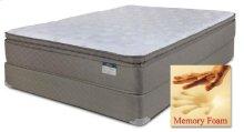 Chrome - Foam Encased (Summit) Pillow Top w/ Memory Foam - Queen