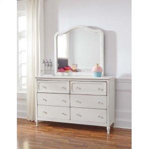 Ashley Furniture Faelene - Chipped White 2 Piece Bedroom Set