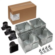 FLEX Series Bathroom Ventilation Fan Only Housing Pack, no Flange