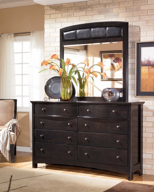 B208 Dresser & Mirror Set (Harmony)