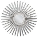 """SILVER ACCENT MIRROR, 45""""D Product Image"""