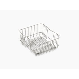 Stainless Steel Coated Sink Basket for Undertone and Iron/tones Kitchen Sinks