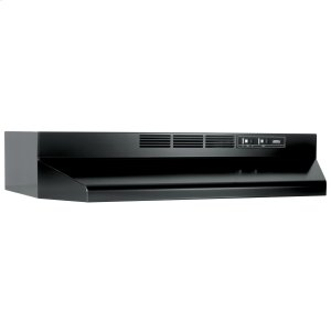 BroanBroan® 30-Inch Ductless Under-Cabinet Range Hood, Black