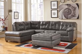 Alliston Gray Sectional (Left Side Chaise)