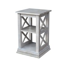 Hampton Accent Table in Taupe Gray