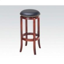 Oak Bar Stool W/swivel @n