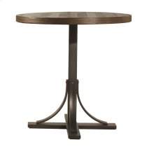 Jennings Round Counter Height Table W/ Metal Base