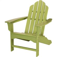 All-Weather Contoured Adirondack Chair - Lime
