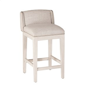 Hillsdale FurnitureBronn Non-swivel Bar Stool - White Wirebrush - 2 Stools Per Ctn