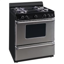 30 in. Freestanding Gas Range in Stainless Steel