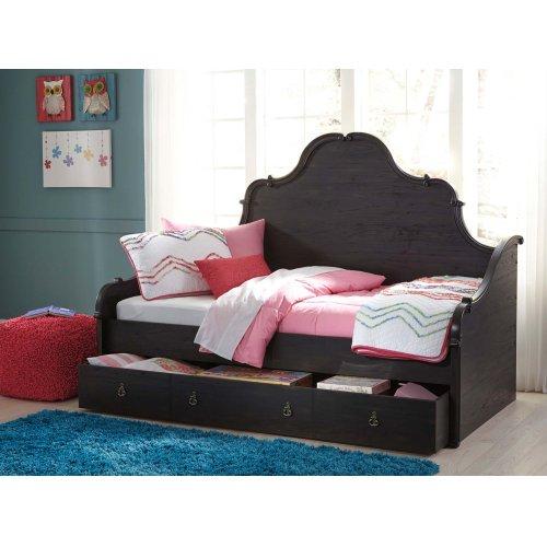 Corilyn - Dark Brown 3 Piece Bed Set (Twin)
