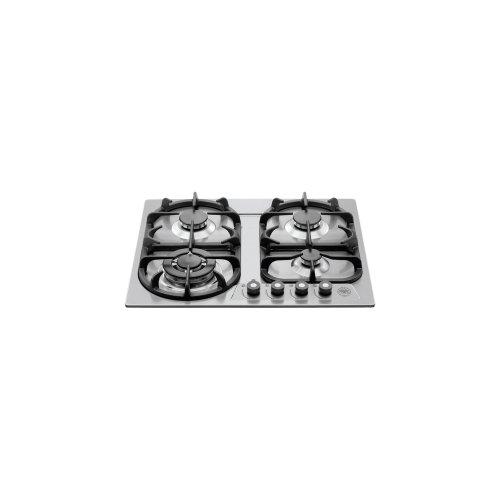 24 Cooktop 4-burner Stainless Steel