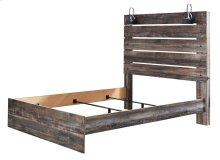 Drystan - Multi 3 Piece Bed Set (Queen) - Storage Footboard