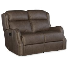 Living Room Sawyer Power Recliner Loveseat w/ Power Headrest