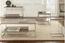 LU250 Lucia- Brown Sofa Table