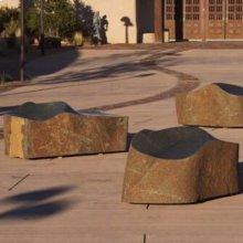 Sculptural Barrier\/ Bench