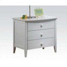 Wh 3-drawer Nightstand Product Image