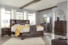 Andriel - Dark Brown 4 Piece Bedroom Set