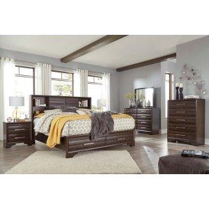 Ashley Furniture Andriel - Dark Brown 4 Piece Bedroom Set