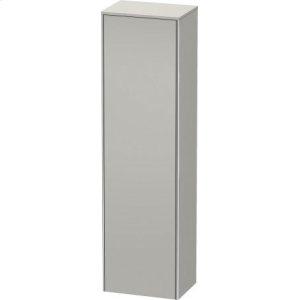Tall Cabinet, Concrete Gray Matt Decor