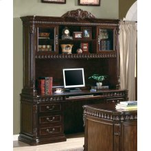 Tucker Traditional Rich Brown Hutch