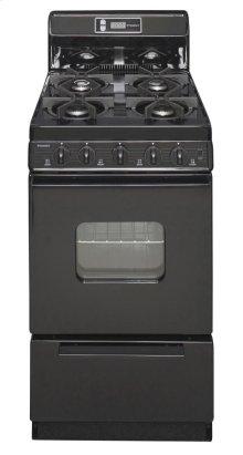 20 in. Freestanding Gas Range in Biscuit