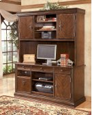 Hamlyn - Medium Brown 2 Piece Home Office Set Product Image