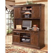 Hamlyn - Medium Brown 2 Piece Home Office Set