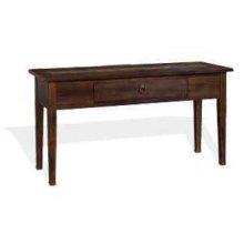Santa Fe Sofa Table w/ Drawer