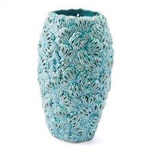 Petals Sm Vase Teal