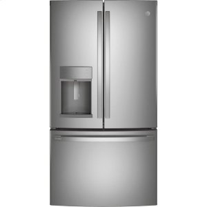 GEGE Profile™ Series 27.7 Cu. Ft. Fingerprint Resistant French-Door Refrigerator with Door In Door and Hands-Free AutoFill