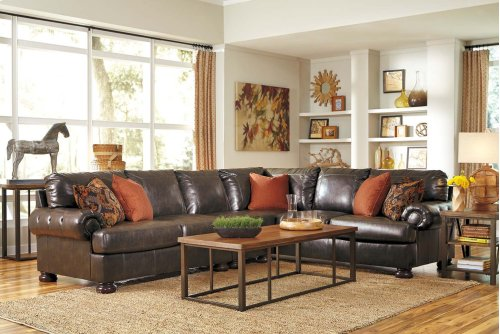 3 Piece Sectional w/ Right Arm Facing Sofa