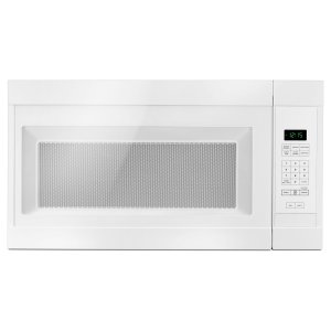 1.6 Cu. Ft. Over-the-Range Microwave with Add 0:30 Seconds White - WHITE