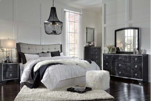 Amrothi - Black 2 Piece Bedroom Set