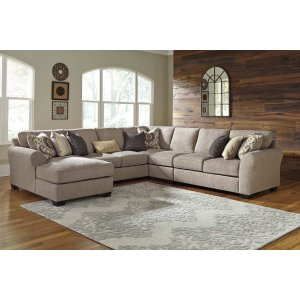Ashley Furniture Pantomine - Driftwood 5 Piece Sectional
