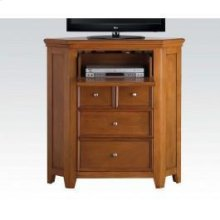Cherry Oak Corner TV Console