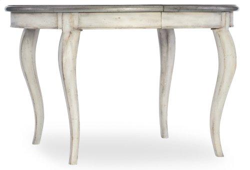 Dining Room Arabella 48in Round Leg Table w/1-20in leaf