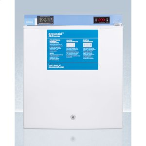 SummitCompact Medical/scientific All-freezer With Digital Thermostat, Nist Calibrated Thermometer/alarm, and Front Lock