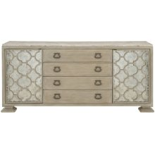 Santa Barbara Buffet with Stone Top in Sandstone (385)