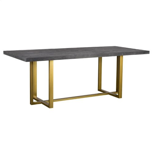 "Vogue Dining Tbl 83"" Black"