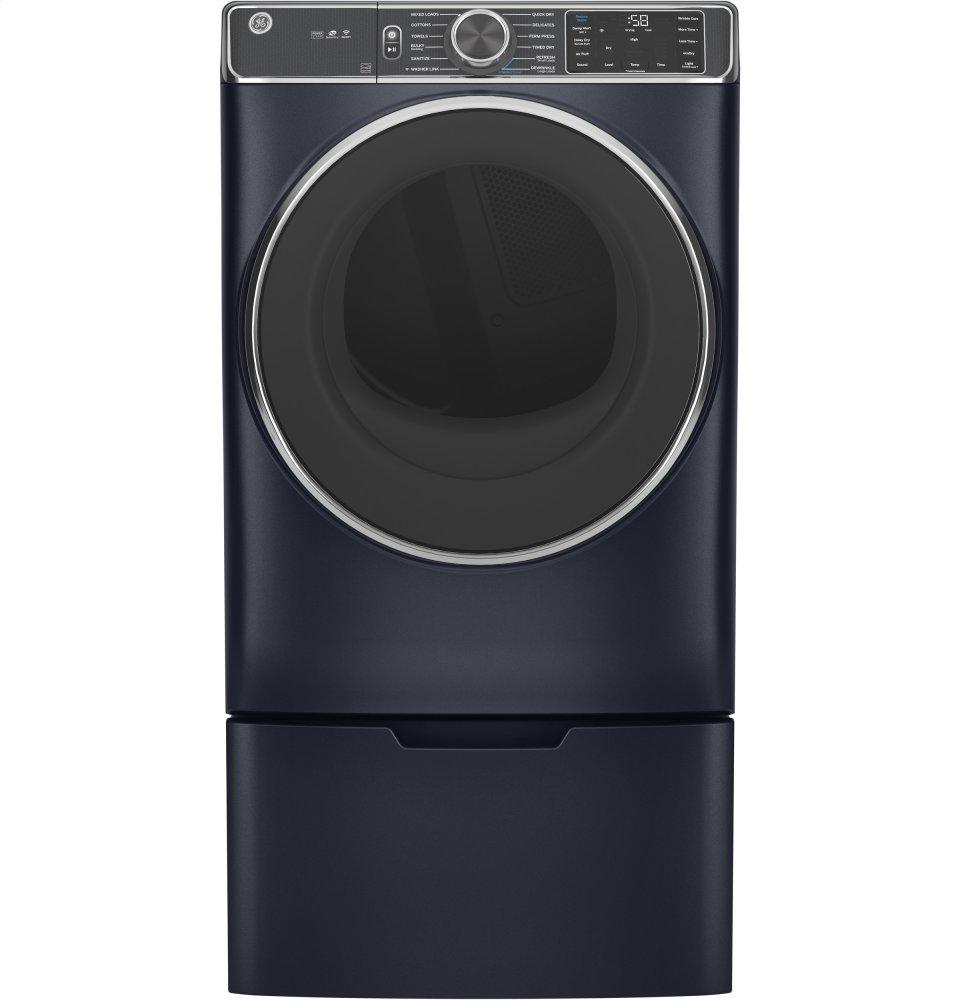 GE® 7.8 cu. ft. Capacity Smart Front Load Gas Dryer with Steam and Sanitize Cycle Photo #3