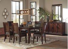Shadyn - Brown 6 Piece Dining Room Set