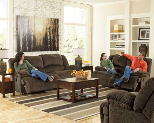 Toletta 2 Seat Reclining Power Sofa - Chocolate Collection