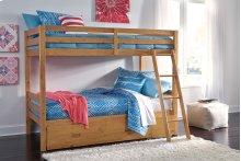 Hallytown - Light Brown 2 Piece Bedroom Set