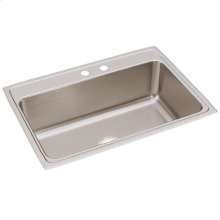"Elkay Lustertone Classic Stainless Steel 31"" x 22"" x 10-1/8"", Single Bowl Drop-in Sink"