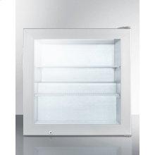 Countertop Commercial Freezer With Self-closing Door; Replaces Scfu385