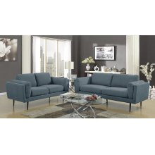 Colton Denim Loveseat
