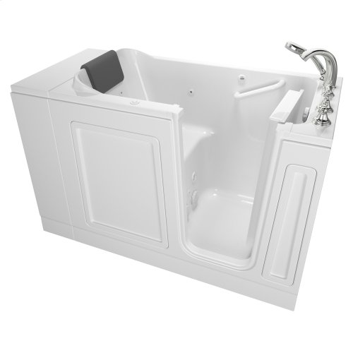 Luxury Series 28x48-inch Right Drain Walk-in Tub with Tub Faucet  American Standard - White