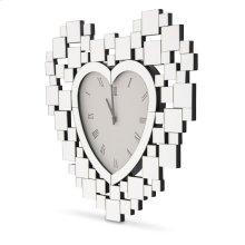 Heart Shaped Clock 5055