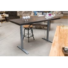 Brooklyn Power Adjustable Desk 83""